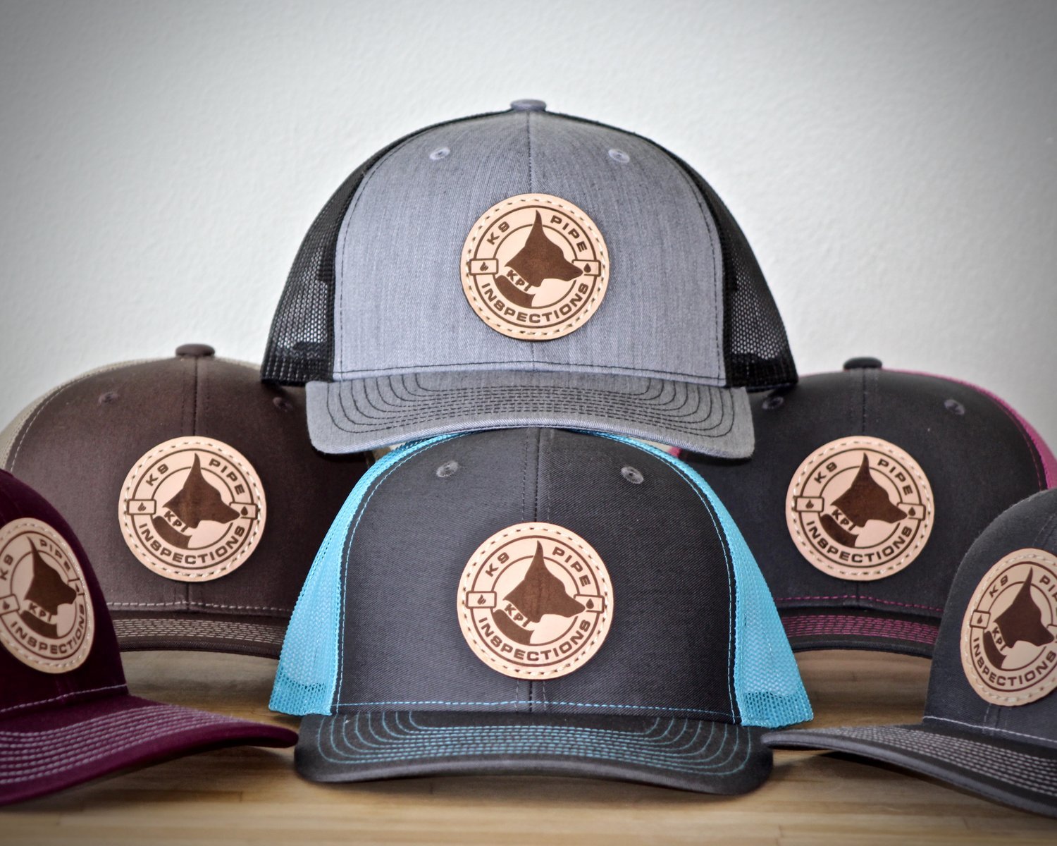 LEATHER PATCH KPI TRUCKER HATS